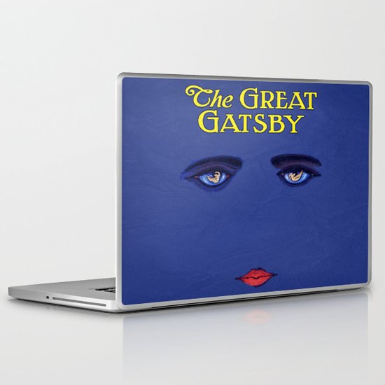 Great G Poster Laptop & iPad Skin