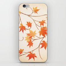 Autumn Leaves are like Flowers iPhone & iPod Skin