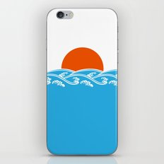 Japanese Tsunami  iPhone & iPod Skin