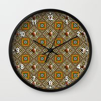 Odo Pattern Wall Clock