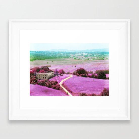 Tuscan mars Framed Art Print