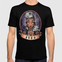 PUNK Pinup Mens Fitted Tee Black SMALL