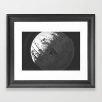 Shadow Of A Doubt Framed Art Print