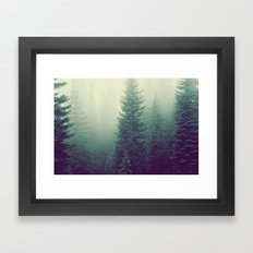 Mysterious Trees Framed Art Print