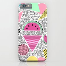 Modern geometric pattern Memphis patterns inspired Slim Case iPhone 6s