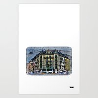Geneva -  Switzerland Art Print