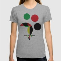 Tucan Womens Fitted Tee Athletic Grey SMALL