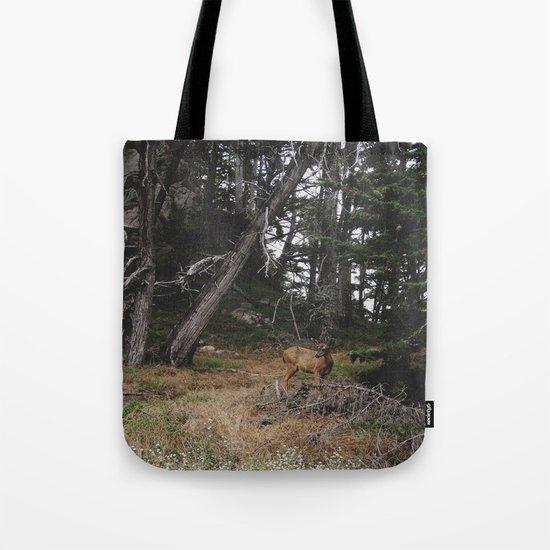 Lobos Deer Tote Bag