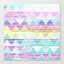 Stripey Canvas Print