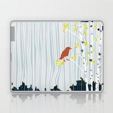 bird in birch Laptop & iPad Skin