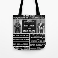 #9-B Memphis Wrestling Window Card Tote Bag