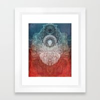 Watching Over You Framed Art Print