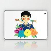 Flower Kite Laptop & iPad Skin