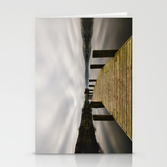 Coniston Water Stationery Card