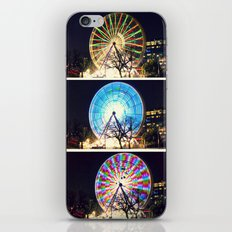 Melbourne Ferris Wheel Triptych  iPhone & iPod Skin
