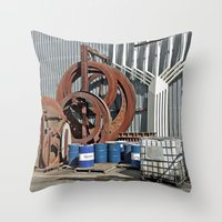 Big and Rusty Throw Pillow