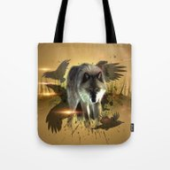 Forest Stalker Tote Bag