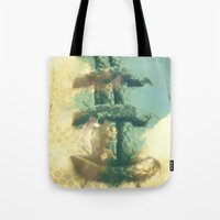 Football In The Clouds Tote Bag