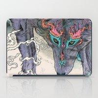 Journeying Spirit (wolf) iPad Case