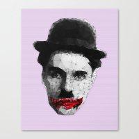Charlie The Joker Canvas Print