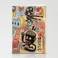 Zombiska Dance  Stationery Cards
