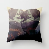 Nature's Lover // Valley… Throw Pillow