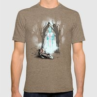 The Fallen Templar Mens Fitted Tee Tri-Coffee SMALL