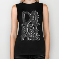 WHATEVER IT TAKES Biker Tank