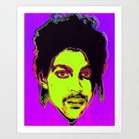 Prince / Warhol Remix Art Print