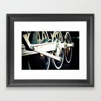 Motion Framed Art Print