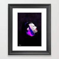 Spaceman Framed Art Print