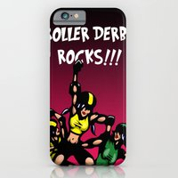 iPhone & iPod Case featuring Roller derby xx by Andrew Mark Hunter