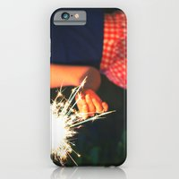 iPhone & iPod Case featuring summer sparkler by Elle Hanley Photography