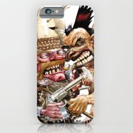 Cowboy And Native Americ… iPhone 6 Slim Case