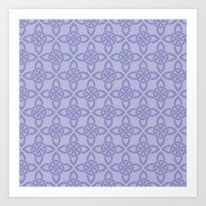 Northern Knot Pattern Art Print