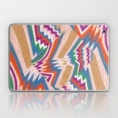 wonky chevron Laptop & iPad Skin