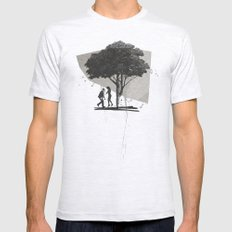 (Down By The) Family Tree | Collage Mens Fitted Tee Ash Grey SMALL
