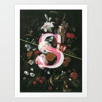 Letter S Art Print