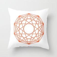 Decagon Throw Pillow