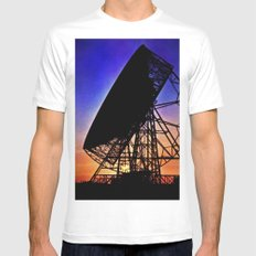 Looking and Listening Mens Fitted Tee White SMALL
