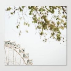 the wheel Canvas Print