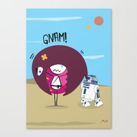 R2 D2 Mec Canvas Print