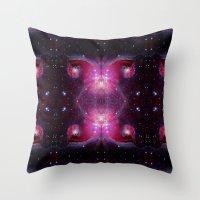Nebula I Throw Pillow