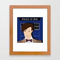 Doctor Who - Matt Smith Framed Art Print