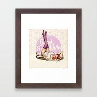 Miss Utah Framed Art Print