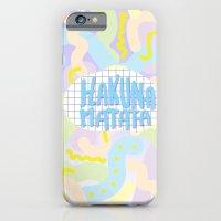 Hakuna Matata Pastel  iPhone 6 Slim Case
