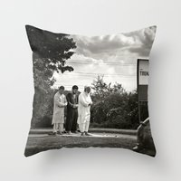 Services Throw Pillow