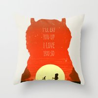 Wild Things Throw Pillow