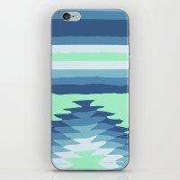 MINT SURF GIRL iPhone & iPod Skin