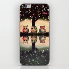 owl-33 iPhone & iPod Skin